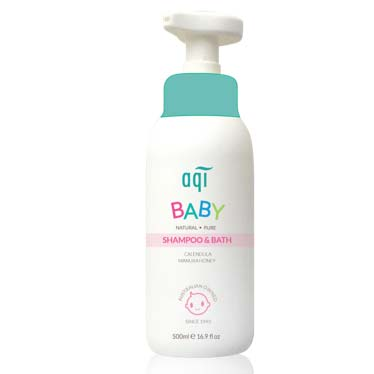 AQI Baby Shampoo & Bath 500ML